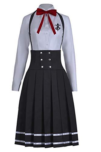 Snuter Danganronpa V3 Shirogane Tsumugi Anime JK Uniform Dress Outfit Halloween Carnival Costume Cosplay Costume