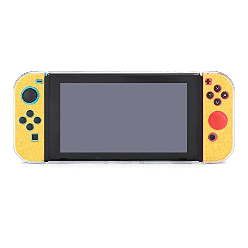 Case for Nintendo Switch,Thin School Line Education Graduation Seamless Protective Cover Case Compatible with Switch and Joy Con Controllers