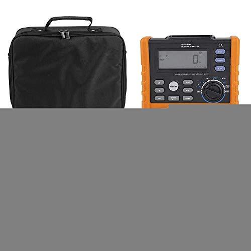 BINGFANG-W Aislamiento Digital Medidor de resistencia, medidor de resistencia Medidor, MS5910 RCD Digital Loop Medidor de resistencia del multímetro Mano