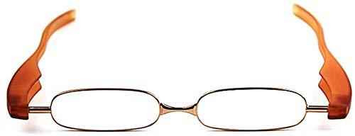 BECCYYLY Gafas de Lectura Gafas de Lectura, 360 giratoria Plegable for Ojos,...