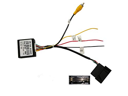 M.I.C. Decoder-G: Original Rückfahrkamera (RNS 310 510) Decoder Adapter zu RCA Video in RGB 12V ersatz für Volkswagen Skoda Seat