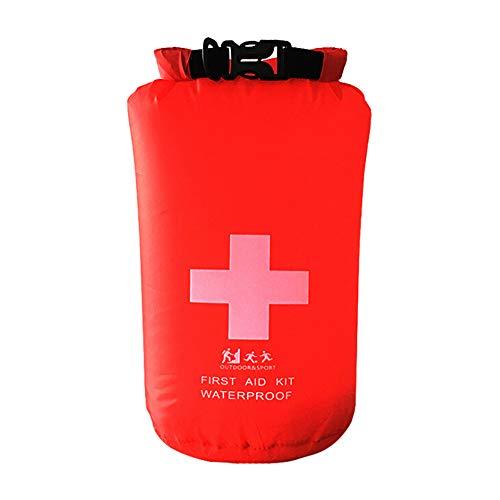 Balight Beruf Erste-Hilfe-Tasche Notfall-Kits Leere Reise Packsack Rafting Camping Tragbare Medizintasche Rote Farbe Wasserdicht 1.2L / 5L / 8L