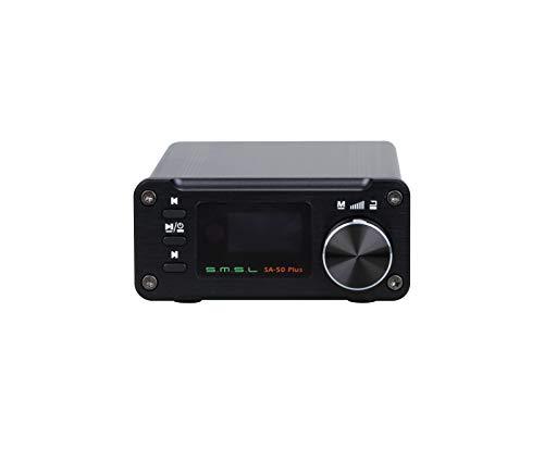Amplificatore SMSL SA-50 PLUS Amplificatore amplificatore 192kHz TAS5766M incorporato Scheda SDB USB / SD 32 bit / (-disc U) / 3.5mm analogico / 3.5mm ottica
