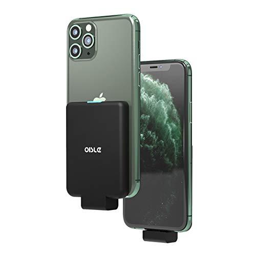 OISLE Mini Power Bank Powercore 4500mAh External Battery Pack Portable Cordless Battery Bank Portable Charger Portable Battery Charger Case for iPhone 11/11 pro (max),8/8+,X,7/7+,6/6+/6s,5/5s-Black