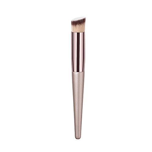 Cosmétique Brosse, Fulltime® 1 pc En Bois Fondation Brosse Sourcil de Fard À Paupières Brosse Maquillage Brosses beauté outils (E)