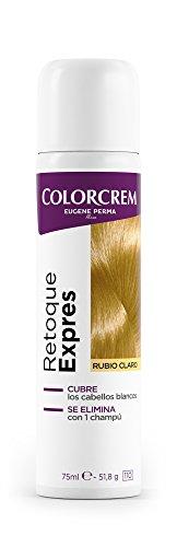 COLORCREM tinte rubio claro retoca raíces expres spray 75 ml