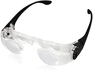 Hongdee Magnifying Glasses for Seniors Watching TV for Low Vision and Independent Living (Far&Near View for Presbyopia)
