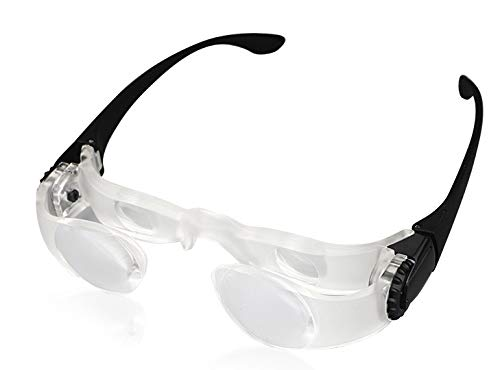 magnification glasses Magnifying Glasses for Seniors Watching TV for Visually Impaired(not for Severe Low Vision)