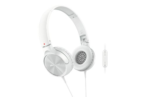 Pioneer SE-MJ522T-K hoofdtelefoon, volledig gesloten, dynamisch wit