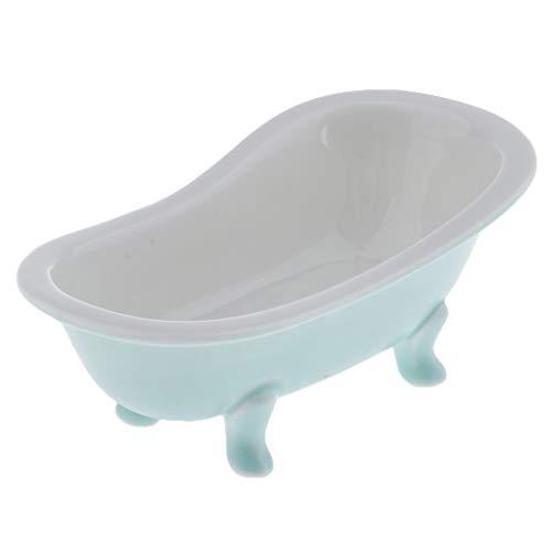 FLAMEER Hamster Badewanne Kleines Haustier Sauna Bad Sand Zimmer WC für Ratten Mäuse Meerschweinchen Chinchilla Igel - Grün