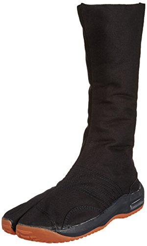 Marugo Air Jog Men's 12 Black Cotton Tabi Boots 29 cm by