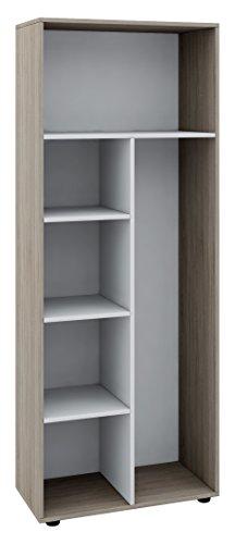 VCM Schrank Universal Staubsauger Besenschrank Mehrzweckschrank Putzschrank Holz Sonoma-eiche 178 x 70 x 40 cm