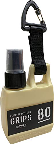SLOWER スプレーボトル スプレー容器 アルコール対応 遮光 携帯 フック付き PUMP SPRAY TANK Grips SAND ベージュ - SLW249 中