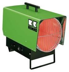 Remko PGT 60 gaskachel, verwarmingskanon (ventilatorblazer voor propaangas; max. 55 kW; netstekker 230 V; 100% groefeffect) 115400