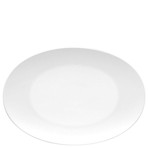 Rosenthal 11280-800001-12734 TAC Gropius - Platte/Servierteller - Porzellan - weiß - Ø 34 cm