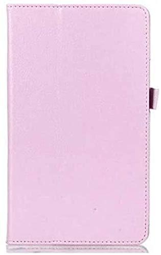 ZRH Accesorios De Pestañas para Huawei MEDIAPAD M3 BTV-W09 BTV-DL09 8,4 Pulgadas, Funda De Tapa De Tabletas + Pen + Película Funda De Cuero Sleep Wake para Huawei MEDIAPAD M3 8.4 (Color : Pink)