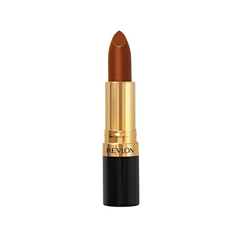 Revlon Super Lustrous Lipstick, High Impact Lipcolor with Moisturizing Creamy Formula, Infused with Vitamin E and Avocado Oil in Nude, Toast of New York (325)