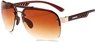 DEYONGDPTYJ Goodr Sunglasses, Fashion Big Frame Sunglasses Ladies Square Fashion Ladies Sunglasses Retro Sunglasses (Color...