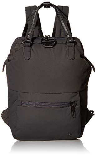 Pacsafe Women's Citysafe CX 11L Anti Theft Mini Backpack-Fits 12' Laptop, Econyl Storm