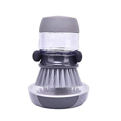Boot Brush 1Pc Reinigungsbürsten Geschirrspülwerkzeug Seifenspender Nachfüllbare Pfannen Tassen Brot Schüssel Scrubber Küchenartikel Zubehör Gadgets