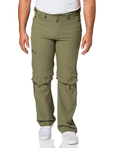 VAUDE Pantaloni da Uomo Farley Stretch con Cerniera a T, Uomo, Pantaloni, 4575, Legno di Cedro, 46