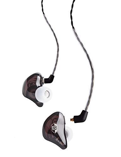 BASN BC100BROWN Bsinger BC100 in Ear Monitor Headphone Universal Fit...
