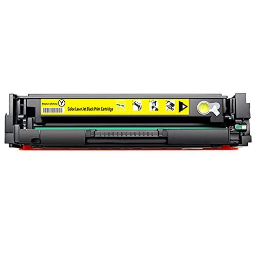 AXAX Cartucho de tóner para HP CF400X CF401X CF402X CF403X Reemplazo Compatible para HP Color Laserjet Pro M252N M252 M252DW M277 M277N M277DW Impresora, Escuela Yellow
