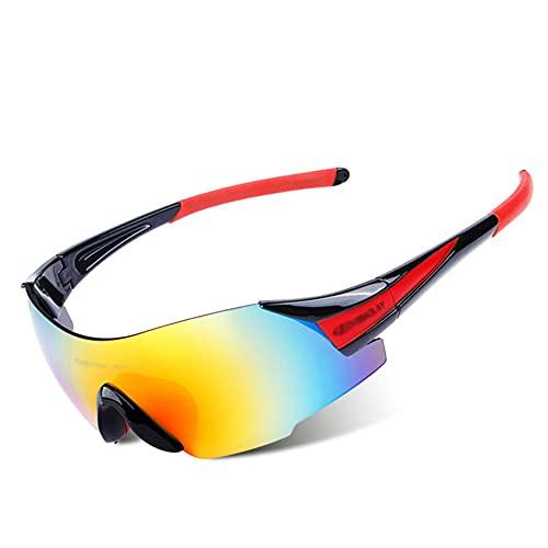 YYLI Gafas De Sol Polarizadas Hombre, Ligero Y Cómodo De Llevar Variedad De Estilos Gafas del Sol Deportivas Unisex, Gafas para Ciclismo Pesca Conducción Esquí Golf Montañismo,2