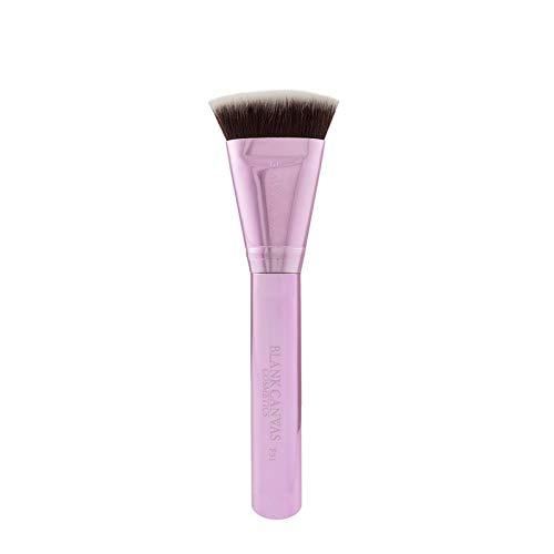 Blank Canvas F31 Pinceau de maquillage multi-usage pour contour de visage Visage Pinceau Métallique Champagne Rose Métallique Champagne Rose 1 Unités