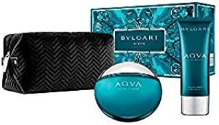 Bvlgari Aqva for Men Eau de Toilette 100ml+100 ml Asb+Pouch (Soft Box) Set