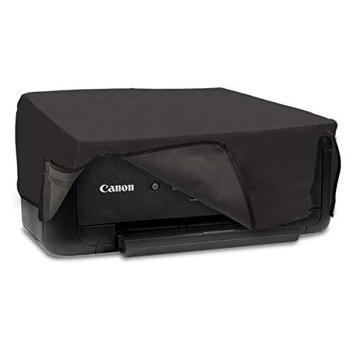 kwmobile Staubschutzhülle kompatibel mit Canon Pixma TS5150 / 5151 / MG 2555 - Hülle Drucker - Schutzhaube Schutzhülle - Dunkelgrau