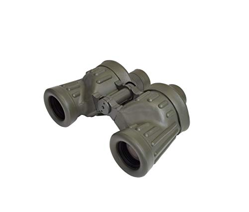 New SIGHTRON SAFARI Porro prism binoculars 8x 30mm caliber military 100/100 reticle made in Japan 32...