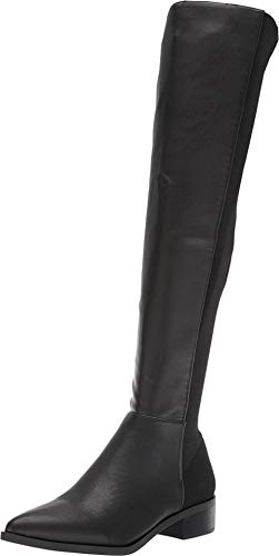 Steve Madden Jolly Over-The-Knee Boot Black Multi 5.5 M