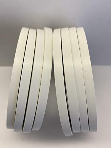 AlLTAPESDEPOT, CVT-536 schwarzes Vinyl-Druckstreifenband, für Tanz- und Fußboden-Splicing Tape, 0,64 cm x 91,4 m 1/4