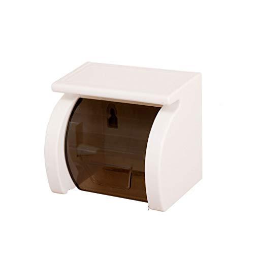 YFQHDD Aseo Caja del Tejido del Papel higiénico del baño Rack Bandeja Rollo de Toallas de Papel a Prueba de Agua Holder