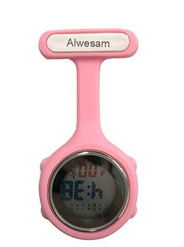 Pin auf Frauen Digital Krankenschwester Uhren, Night Lights Sportuhren (rosa)