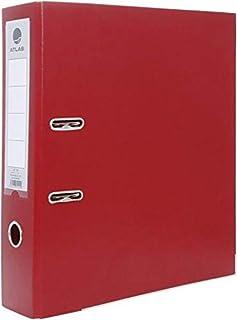 Atlas PVC RINGS BINDER FILE 30 Pcs Box (2 Rings) Red