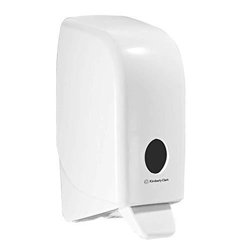 Ruiwo Hotel shampooing douche gel box ménage salle de bain salle de bain mural distributeur de savon double tête sans punch (Couleur : Blanc)