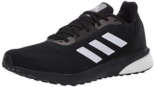 adidas Herren Astrarun Shoes Laufschuh, Core Black/FTWR White/Core Schwarz, 45 1/3 EU