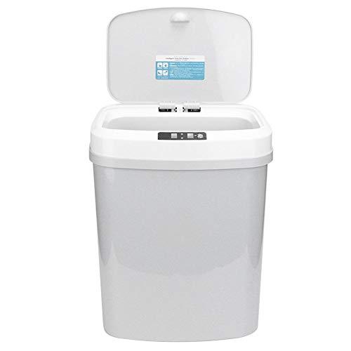 Sensor Bin voor Afvalstof, 15L Automatische Touchless Intelligente Inductie Bewegingssensor Vuilnisbak Prullenbak voor Hotels, Families, Vergaderkamers, Registratie, Toelating, Tentoonstellingsruimte