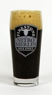 Firestone Walker Brewing Company - Nitro Merlin Milk Stout Glass