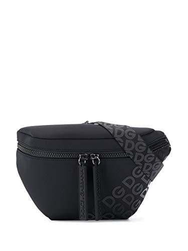 Moda De Lujo | Dolce E Gabbana Hombre BM1760AJ772HNNDN Negro Poliéster Riñonera | Ss21
