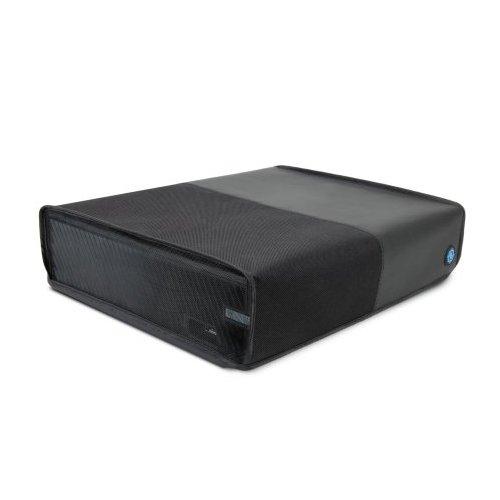 ENHANCE Protector De La Cubierta De La Consola Xbox One - Cubierta Antipolvo con Diseño Transpirable para Una Liberación Rápida del Calor, Diseño Que Se Ajusta A La Forma (Negro, Horizontal)
