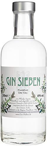 Gin Sieben Frankfurt Dry Gin (1 x 0.5 l)
