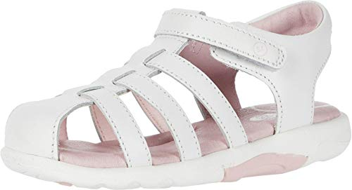 Stride Rite Baby Girl's SRT Luna (Toddler) White 9.5 Toddler