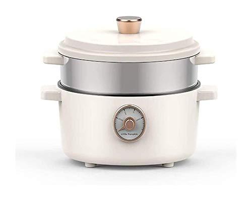 MulticoLoker eléctrico 2 l Cocina lenta con 3 configuraciones de calor y función de mantenimiento Pequeña sartén Pot Soup Hot Soup Soup Steame DDLS (Size : Small)