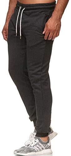 Reslad Jogginghose Herren Trainingshose Männer Sporthose Sweatpants Jogger Pants Freizeithose für Gym & Fitness RS-5060 (2XL, Anthrazit 16600)