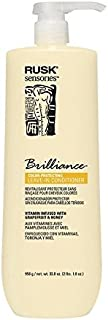 RUSK Sensories Brilliance Grapefruit and Honey Color Protecting Leave-in Conditioner, 33.8 fl. oz.