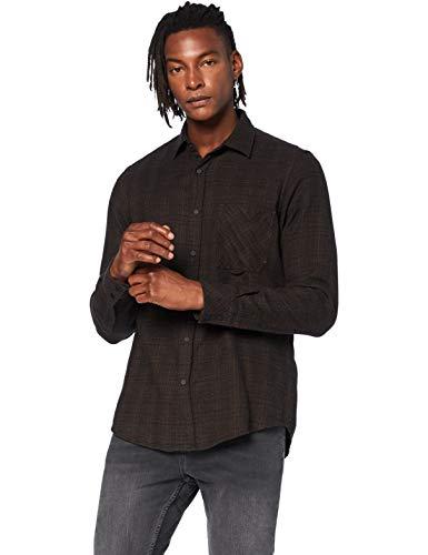 BOSS Riou Camisa, Negro (1), S para Hombre