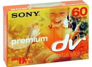 Sony dvm60 dv60 Mini dv Cintas para la videocámara - Pack 5